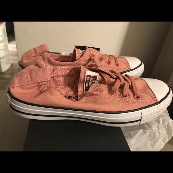 1deca7df4ce0 Shoreline Converse - Rust Pink   White - Size 9